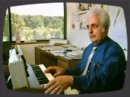 An extract from a 1980's BBC Micro Live special on electronic music in which Dr Bob Moog demonstrates the Minimoog.