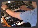 Using the Moog LP synthesizer (2007) to emulate the Moog Rogue (1982).