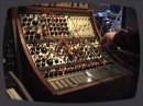 Buchla 200 analogue modular in action. The touch keyboard is working as one 16 note sequencer while the smaller 5 x 4 sequencer makes the other sequence..