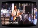 Demo of the Nova Modulator pedal by Søren Andersen at NAMM 2008.