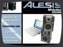 Présentation des enceintes Alesis M1 Active 320 USB.