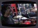 Carmine Appice présente le kit de batterie DDrum signature, au salon MusikMesse 2009 de Franckfort.