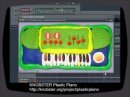 Plastic Piano by Knobster is a simple synthesizer — electric piano emulator for Windows. It has the characteristic of a plastic sound. Especially good for the lo-fi and cheap-tone music. For the production of the synthesizer was spent more than 150 grams of plasticine. After playing Plastic Piano its strongly recommended to wash your hands with warm water and soap.