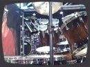 A look at the Tama booth at the 2009 NAMM show.