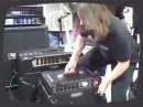 Lofty Whitaker from Audix shows off the CabGrabber, a simple device designed to simplify miking a guitar cab.