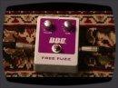 Présentation de la pédale Free Fuzz signée BBE.