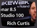 Rich Curtis de chez Cakewalk nous présente les nouveautés de Sonar 8.5 ainsi que le V-Studio 100.
