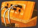 Voltage est un film d'animation mettant en scène des êtres mi-humain mi-synthétiseur.