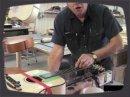 Dernière partie de la visite d'atelier des Guitares Boucher