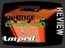 Présenté au dernier MusikMesse, voici un tour d'horizon de l'amplificateur pour guitare Crush CR60C combo.