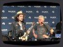 Un petit moment sur la grande scène du NAMM en compagnie de John Mayer et de la Martin 0045SC.