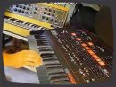 Vintage synth demo by RetroSound bassline: Moog Minimoog (Lintronics Midi) sequenced by the MFB Step64 step sequencer, sync with the TR-707 and transposed by the DX-7 II sync sounds: ARP Odyssey MK3 drums: Roland TR-707 no overdubbing, no sequencer software used more info: www.retrosound.de and http Unfortunately it came by the youtube sound compression to a few unwanted digital noises in the sound. See the vid in better sound quality add: &fmt=18