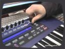 A quick overview of the new Novation Ultranova during a show.