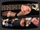 Ici, on fait ses premiers pas dans le style Blues à la guitare électrique. LA leçon montre le placement des doigts pour les accords et les progressions.