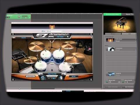 Voici un tutoriel qui explique comment utiliser les instruments virtuels toontrack dans GarageBand.