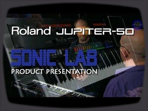 Voici un aperçu plus complet du nouveau synthé Roland Jupiter-50 qu'on a vu au dernier MusikMesse 2012.