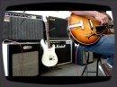 Brunetti Singleman 16w / Gibson Vintage ES175 1965's / (3) Fluxson Music Marseille France.