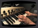 'King Korg Video Performace synth with a valve