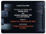 Plug-ins : Offre spéciale pour Vienna Ensemble PRO et Vienna Suite - pcmusic