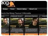 Matériel Musique : Site Web consacré au Moog Taurus 3 - pcmusic