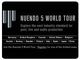 Event : Nuendo 5 World Tour - pcmusic