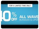 Plug-ins : 40% Off on All Waves Bundles and Upgrades - pcmusic