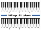 Virtual Instrument : Pianoteq Grand pianos extended to 105 keys - pcmusic