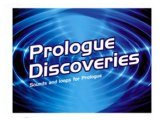 Virtual Instrument : Prologue Discoveries: Release of VST Sound Instrument Set - pcmusic