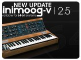 Virtual Instrument : Arturia Announces Version 2.5 of The Minimoog V - pcmusic