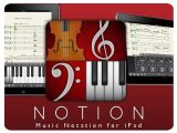 Music Software : NOTION for iPad features London Symphony Orchestra - pcmusic