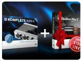 Informatique & Interfaces : KOMPLETE AUDIO 6 et GUITAR RIG 5 PRO en Promo - pcmusic