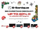 Virtual Instrument : G-Sonique: BIG CHRISTMAS DISCOUNT! - pcmusic