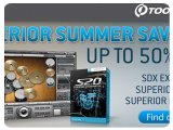 Misc : Toontrack launch Superior Summer Savings - pcmusic