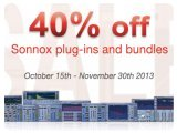 Plug-ins : Sonnox Autumn Sales - pcmusic
