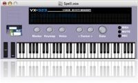 Music Software : VX-323 1.0b1 speech synthesizer - macmusic