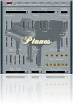 Virtual Instrument : MHC Pianos v1.0 - macmusic