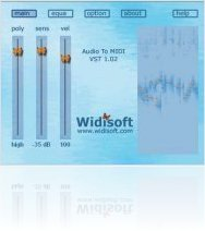 Plug-ins : WIDI Audio to MIDI goes UB - macmusic