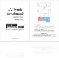 Music Hardware : V-Synth TweakBook second edition - macmusic