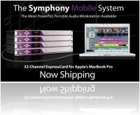 Computer Hardware : Apogee Electronics' Symphony Mobile ExpressCard Now Shipping - macmusic