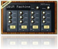 Virtual Instrument : Broken Drum Machine - macmusic
