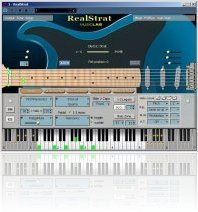 Virtual Instrument : MusicLab RealStrat - macmusic
