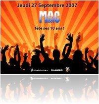 Evénement : Venez jeudi fêter les 10 ans de MacMusic - macmusic