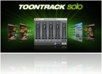 Music Software : Toontrack Solo host application - macmusic