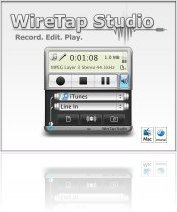 Music Software : Ambrosia Software WireTap Studio : Record. Edit. Play. - macmusic