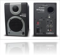 Audio Hardware : Alesis launches the M1 Active 320 USB speakers and audio interface - macmusic