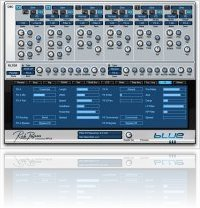 Instrument Virtuel : Rob Papen propose la version 1.7 de Blue - macmusic