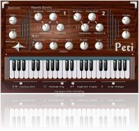 Virtual Instrument : Peti Harmonium for OS X - macmusic