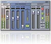 Plug-ins : Sony Oxford Limiter - macmusic