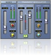 Plug-ins : Sony Oxford VST-AU natif en 2006 - macmusic