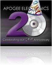 Industry : Apogee 20th anniversary - macmusic